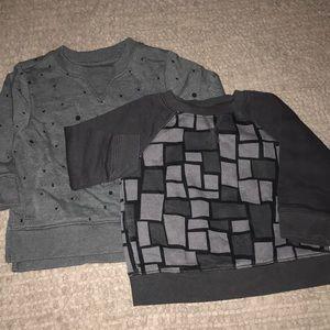 Cat & Jack Sweatshirt Bundle 18M